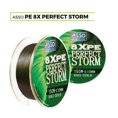 ASSO PE8X PERFECT STORM 150M 0,10MM 9,50KG