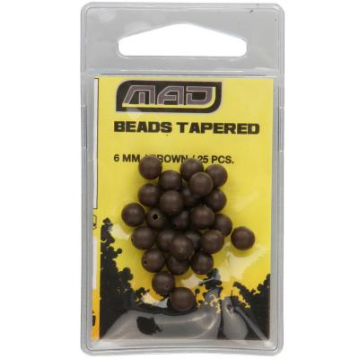 D.A.M MAD TAPERED BEADS GOLYÓ 6MM BROWN