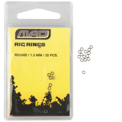 D.A.M MAD RIG RINGS ROUND 1,5mm