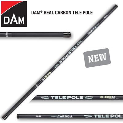 D.A.M REAL CARBON TELE POLE 5,00M